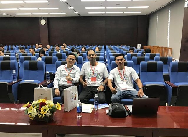 Netlink tại sự kiện Google I/O Extended Miền Trung 2018