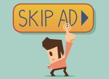 AdSense for Video cho thêm nút skip + tự động skip sau 5s cho tất cả banner ad